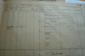 Il foglio d'uscita della matricola del carcere con la firma di Righetto Giampiero.