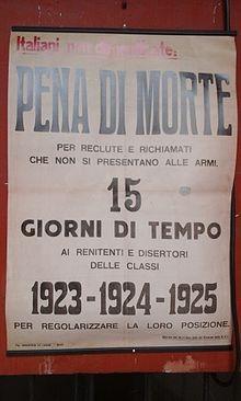 La fucilazione del 6 aprile del '44